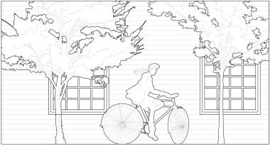 A guy on a bike sanaa people - 20 - pimpmydrawing Model (1)-001