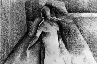 kvinna på torg